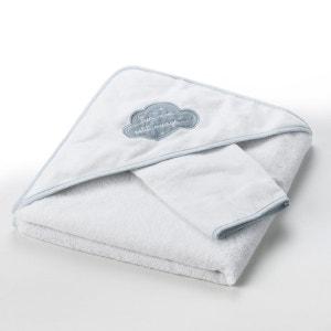"""Cape de bain + gant """"Dans les nuages"""" 400 g/m² La Redoute Interieurs"""