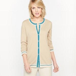 Cardigan, coton et modal ANNE WEYBURN