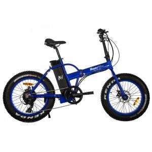 Vélo électrique MOOVWAY Fat Bike bleu MOOVWAY