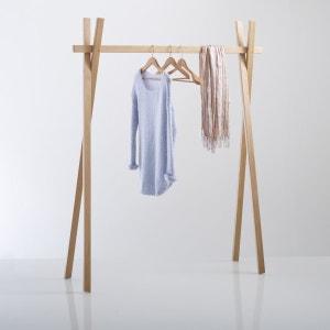 Uyen Oak Clothes Rack La Redoute Interieurs