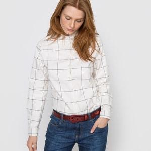 Chemise à carreaux en flanelle R essentiel