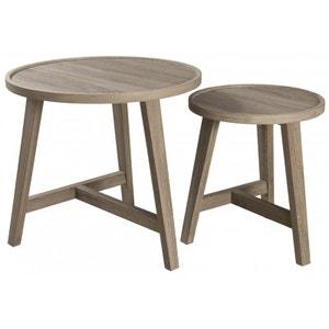 2 tables gigognes la redoute. Black Bedroom Furniture Sets. Home Design Ideas