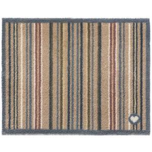 Tapis en fibres naturelles à rayures 65x150 cm JARDINDECO