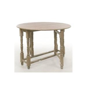 TABLE PLIABLE RONDE KORG EN BOIS HELLIN, DEPUIS 1862