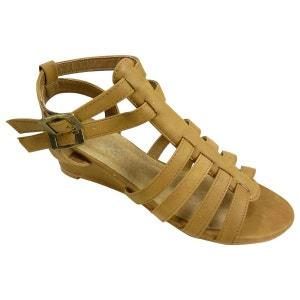 Sandales spartiates compensées CHAUSSMARO