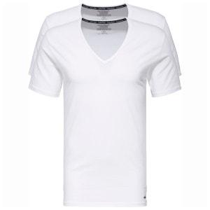 T-shirt coton, manches courtes, lot de 2 CALVIN KLEIN