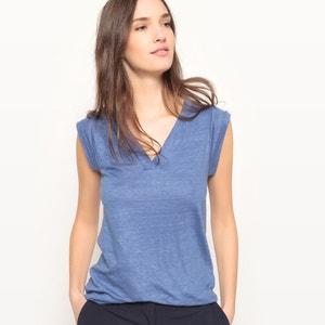 T-shirt senza maniche scollo a V La Redoute Collections