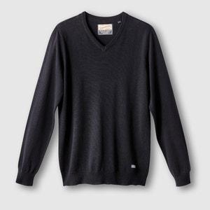 Pullover, V-Ausschnitt PETROL INDUSTRIES