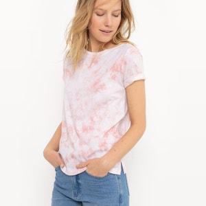 Camiseta estampada estilo mármol R studio
