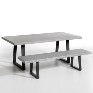 Table d'extérieur résine et métal, Lester AM.PM.