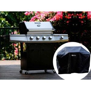 """Barbecue gaz """"Bingo 5"""" - 5 Brûleurs dont 1 latéral - 15.2kW + Housse protection H&j habitat et jardin"""