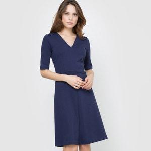 V-Neck Milano Knit Full Dress atelier R