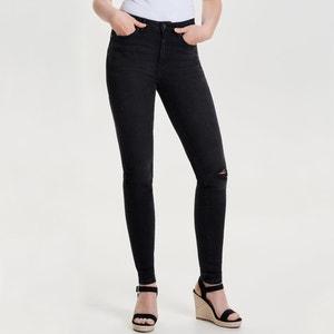 Regular jeans, recht, hoge taille