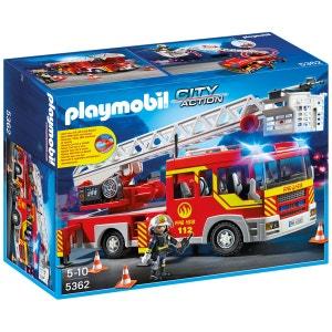 Playmobil City Action - Camion de pompier avec échelle pivotante et sirène - PLA5362 PLAYMOBIL