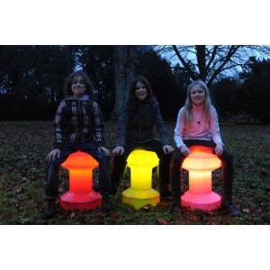 Tabouret design lumineux BLOOM