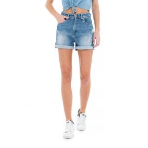 Shorts en denim délavé SALSA
