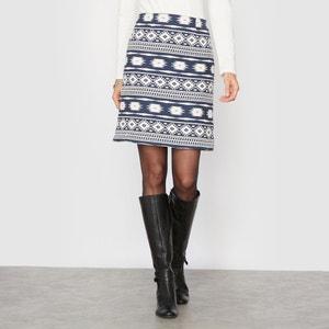 Printed Jacquard Skirt ANNE WEYBURN