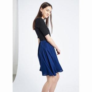 Falda Azul Marino Prune, estilo patinadora COMPANIA FANTASTICA