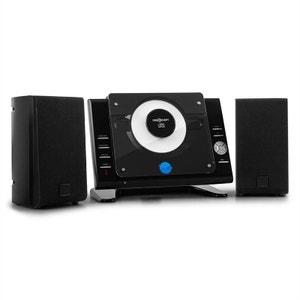 Vertical 70 Chaîne stéréo CD USB MP3 AUX -noir ONECONCEPT