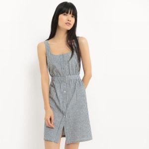 Robe tablier, coton/lin R Edition