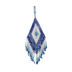 Collier Java Diamond Bleu, Blanc et Turquoise AMADORIA