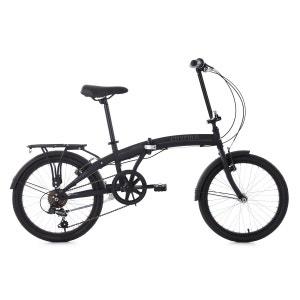 Vélo pliant 20'' Cityfold noir 6 vitesses TC 28 cm KS Cycling KS