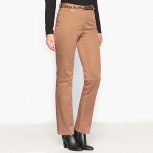 Pantaloni, satin di cotone stretch ANNE WEYBURN