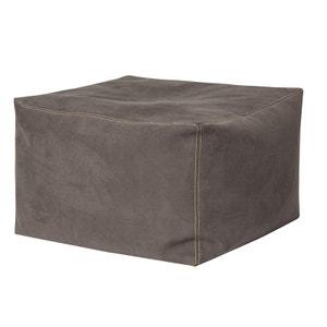 pouf marron la redoute. Black Bedroom Furniture Sets. Home Design Ideas