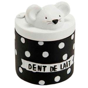 Petite boite à dents de lait - Noir et blanc AMADEUS