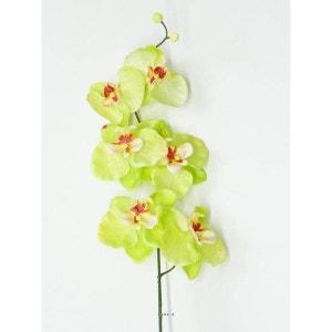 Orchidee Phalaenopsis Artificiel Zen H 77 cm 6 fleurons magnifiques Vert été - couleur: Vert été ARTIFICIELLES