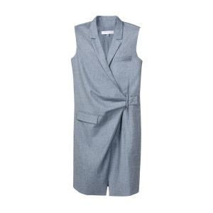 Veste pour femme Sans Manche laine mélangée se porte comme une robe ou un gilet SUNDAY LIFE