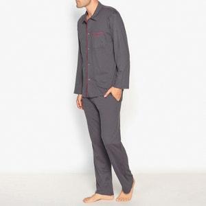 Piżama z długimi spodniami z bawełnianego dżerseju ATHENA