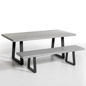 Table d'extérieur résine et métal, Lester AM.PM