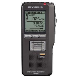 Dictaphone numérique professionnel  DS‑5500 à carte mémoire SD/SDHC OLYMPUS