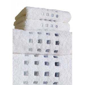 serviette invit linge de bain la redoute. Black Bedroom Furniture Sets. Home Design Ideas