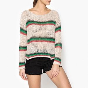 Pull tricot à col bateau LIU JO