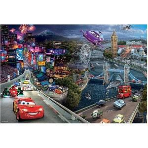 Puzzle 160 pièces - Cars 2 : Quelles courses ! TREFL