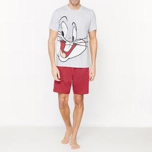 Piżama letnia wzorzysta BUGS BUNNY
