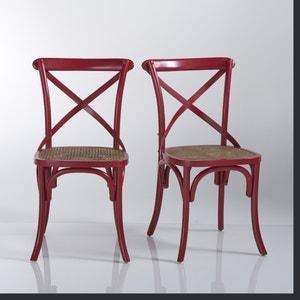 Chaise en hêtre massif (lot de 2), Lunja La Redoute Interieurs