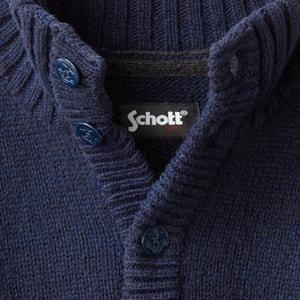Trui in grof tricot SCHOTT