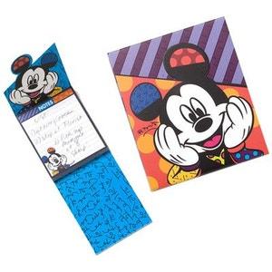 Bloc note Mickey by Romero Britto ENESCO