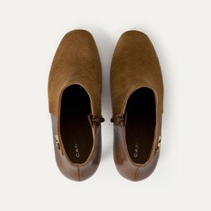 Boots, Ledermix CARVEN