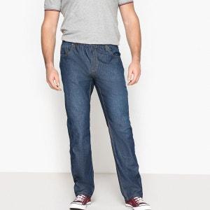 Jean léger 5 poches taille élastiquée coupe droite CASTALUNA FOR MEN