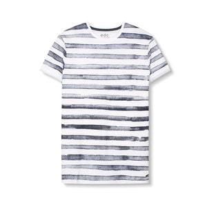 Gestreept T-shirt in katoen ESPRIT