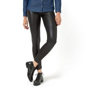 Legging long en maille stretch, laqué R Edition