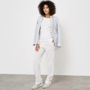 Pantaloni straight in lino La Redoute Collections
