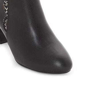 Boots à talon, cuir lisse CASTALUNA