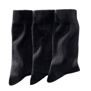 Effen sokken (set van 3)