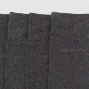 Chaussettes, lot de 5 paires ESPRIT