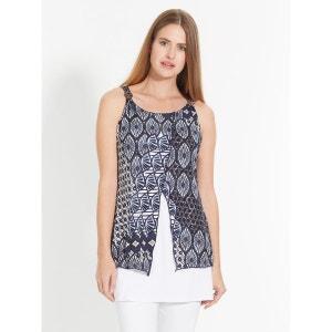 Tee-shirt tunique effet 2 en 1 CELAIA